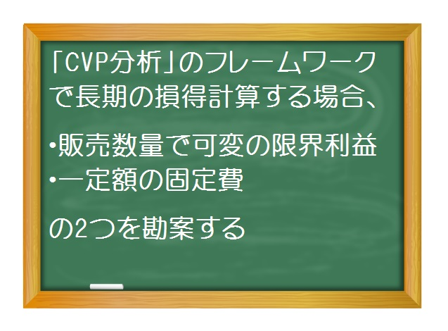 管理会計(基礎編)_長期的意思決定 CVP分析より