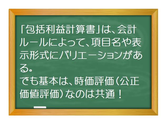 会計(基礎編)_包括利益計算書を斬る(3)