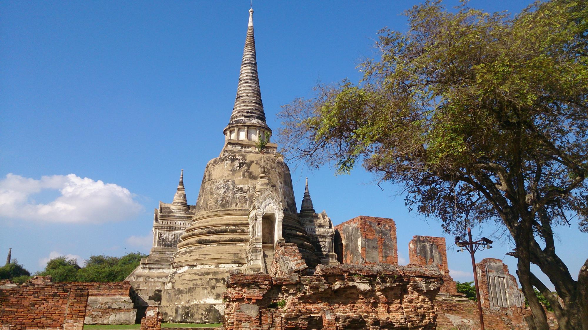 アユタヤ寺院1