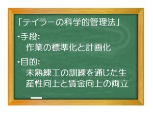 経営戦略(基礎編)_経営戦略概史(2)フレデリック・テイラーと「科学的管理法」