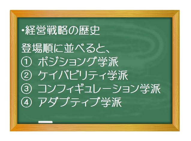 経営戦略(基礎編)_経営戦略概史(1)経営戦略100年の振り返り方 三谷宏治著「経営戦略全史」より