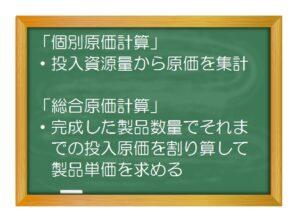 原価計算(入門編)原価計算 超入門(3)個別原価計算と総合原価計算