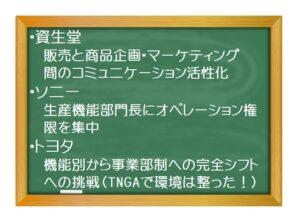 経営管理(基礎編)_組織管理(4)- 組織デザインのケーススタディ 「資生堂」「トヨタ」「ソニー」の狙いは?