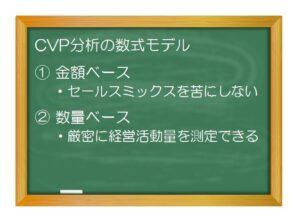 財務分析(入門編)_CVP分析/損益分岐点分析(2)基本モデルを理解する - 数式モデルの成り立ちについて