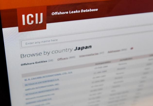 20160516_ICIJのウェブサイトに公開された「パナマ文書」の日本企業関連資料ページ_日本経済新聞朝刊