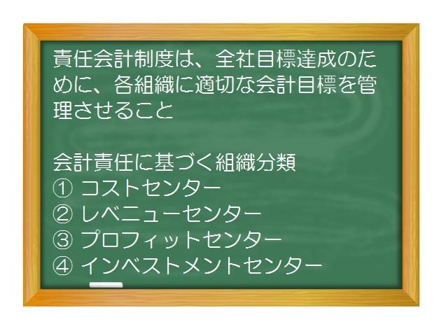 業績管理会計(入門編)_業績管理会計の基礎(4)マネジメント・コントロール・システムのための責任会計制度とは?