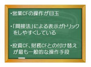 財務会計(入門編)_不適切会計の手段 -キャッシュフロー操作(1)営業キャッシュフローのトリック総論