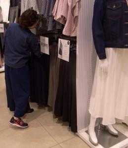 20160217_ジーユー都内の店舗_日本経済新聞朝刊